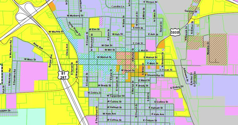 Decatur Zoning Map