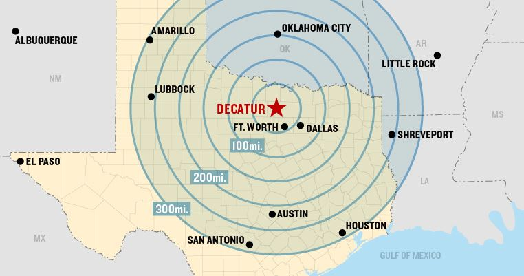 Decatur Map