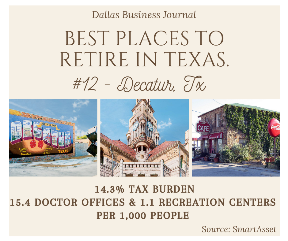 Best Places to Retire in Texas